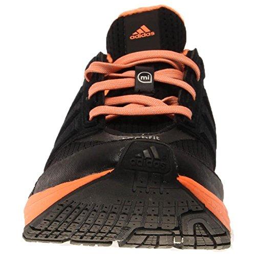Adidas Supernova Glide Boost esecuzione della scarpa da tennis (5 D (m) Us, nucleo nero) nero e arancione
