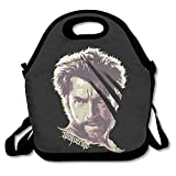 amurder x-Men Wolverine Insulated personalizada bolsa almuerzo alimentos bolsa Negro