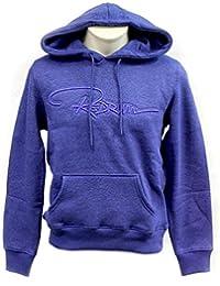 REDRUM Hoody Hoodie Kapuzenpullover Pullover mit Kapuze Damen Streetwear Bak mel Blau