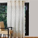 Textrade USA Marokkanische Bedruckte Baumwolle Leinen Vorhang