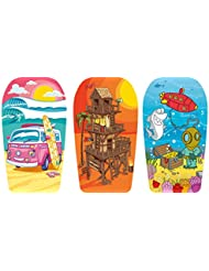 Urban Beach Children's EPS Bodyboard 33 Inch - Choice Of 3 Designs