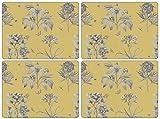 Pimpernel Etchings & Roses Yellow Tischunterlage 4 Stück (s)