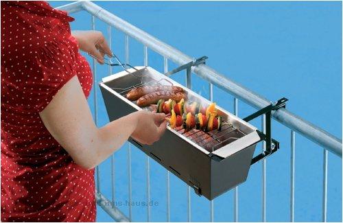 BBQ BRUCE - Der Balkongrill