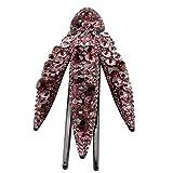 Baoblaze Elegantes Haarklammern Haarkrallen Spinnen Haarspangen Clips mit Kristall Charm - Farben Auswählen - Lila