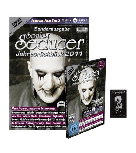 Sonic Seducer Jahresrückblick 2011 Limited Edition mit ASP-Sticker + DVD: M'Era Luna Film Teil 2, Bands: ASP, Nightwish, Saltatio Mortis, Blutengel uvm. + mehr als 30 Videoclips