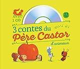 3 contes du Père Castor d'animaux : Le petit hérisson partageur ; Dans le ventre du moustique ; Un travail de fourmis (1CD audio)...