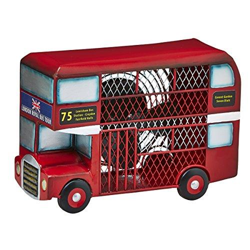 Deco Breeze double Decker Bus Figurine Fan