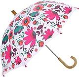 Hatley Mädchen Regenschirm Printed Umbrellas, Pink (Tortuga Bay Floral), Einheitsgröße