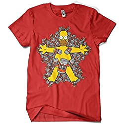 Camiseta American Duff - Homer Simpson
