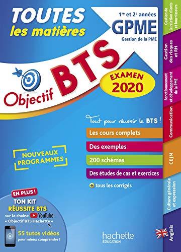 Objectif BTS Le tout en un BTS GPME par Jacqueline Thédié
