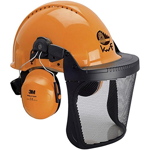 3M CASCO FORESTAL KIT NARANJA ESCUDOS C 5.