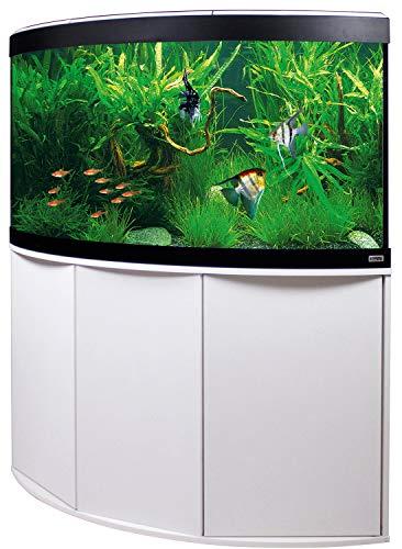 Aquariumkombination Fluval Venezia 350 mit LED Beleuchtung, Heizer, Filter und Unterschrank weiß