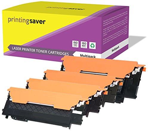 Clt-406s printing saver kit 4 toner compatibili per samsung clp-360, clp-360n, clp-365, clp-365w, clp-368, clx-3300, clx-3305, clx-3305fn, clx-3305n, clx-3305w, clx-3305fw, xpress c410w, sl-c460w, sl-c460fw, sl-c467w stampanti