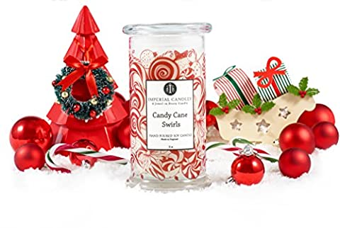 Candy Cane Swirls - Imperial Candles - Jewellery Soy Candle