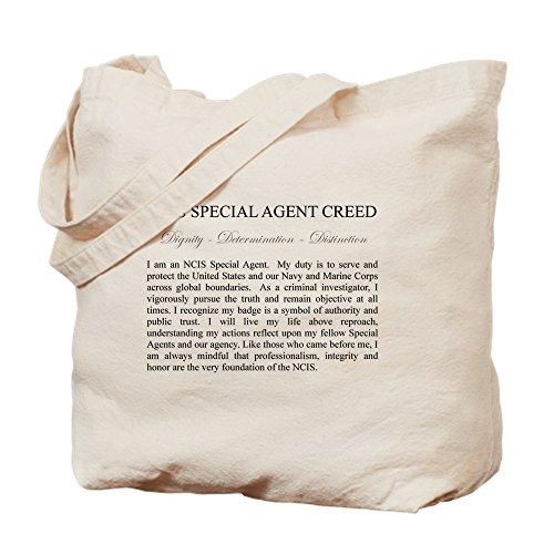 CafePress NCIS Creed Tragetasche, canvas, khaki, S (Creed Agenten)