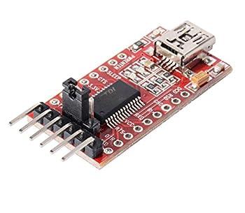 Gaoxing Tech. 5pcs Ft232rl Ftdi Usb Zum Ttl Seriellen Adapter 3.3v 5.5v Modul Mini Port Für Arduino Mini Port 2