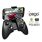 Model: PG-9021 Color: Black Size:160x100x60mm Bluetooth: 3.0 Charge time: about 1 hour Play time: Approx. 20 hours System required: Android 2.3, ios 4.3 and above,for Android TV Supports the vast majority of games: App store: such as Gunman Clive, He...