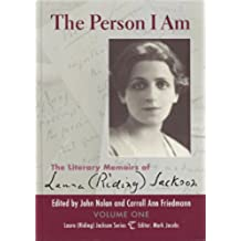 The Person I Am Volume One (Laura (Riding) Jackson Series Book 1) (English Edition)