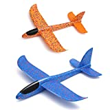 Best unknown Toys For Planes - weoxpr 2 Pack Soft Foam Airplane, Manual Throwing Review