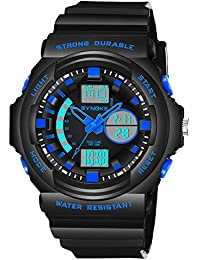 BINZI Analog Digital WristWatch For Men Boys Outdoor Watches For Kids 7-12 Years Old Watch