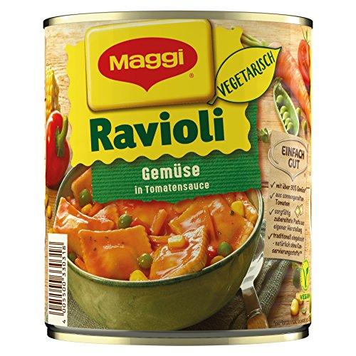 Maggi Gemüse-Ravioli in Tomatensauce, 800g