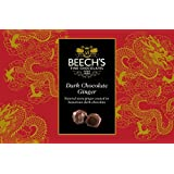 Beech's Fine Chocolates Dark Chocolate Covered Ginger 200 g (Pack of 2)