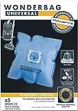 5 LIMPIADORES bolsas de vacío ROWENTA SILENCE FORCE ARTEC UNIVERSAL DQO WB406120