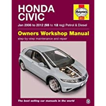 Honda Civic Petrol and Diesel Owner's Workshop Manual