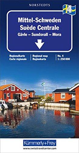 Kümmerly & Frey Karten, Mittel-Schweden (Regional Maps - Sweden): Alle Infos bei Amazon
