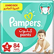 Pampers Pants, Size 4, Maxi, 9-14 kg, Jumbo Box, 84 Diapers