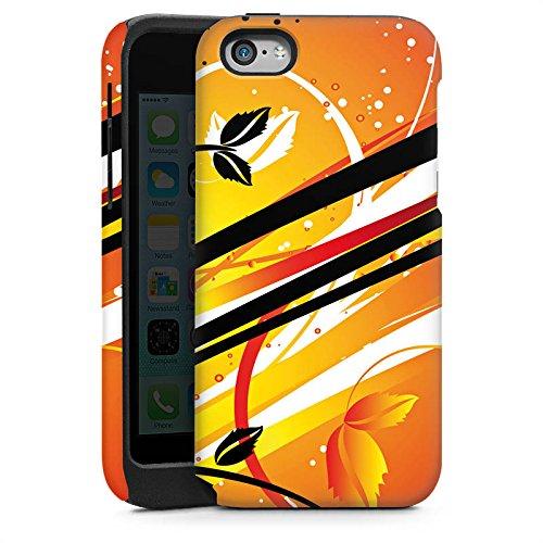 Apple iPhone 4 Housse Étui Silicone Coque Protection Ornement Motif Motif Cas Tough brillant