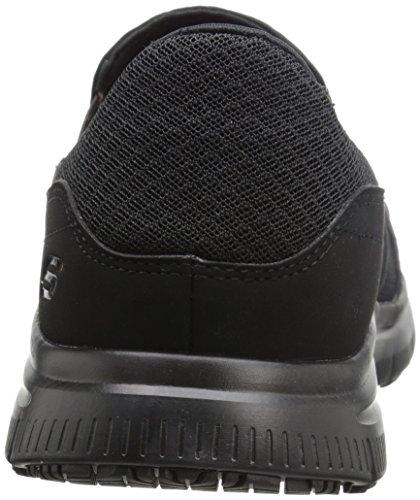 Skechers For Work 77048 Flex Advantage antidérapante Mcallen Slip On Black
