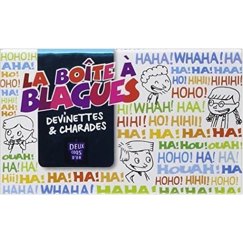 Boîte à blagues: Devinettes & charades de Collectif ( 14 avril 2010 )