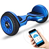 """10"""" Premium Hoverboard Bluewheel HX350 - Deutsche Qualitäts Marke - Kinder Sicherheitsmodus & App - Bluetooth Lautsprecher - Starker Dual Motor - LED - Elektro Skateboard Self Balance Scooter"""