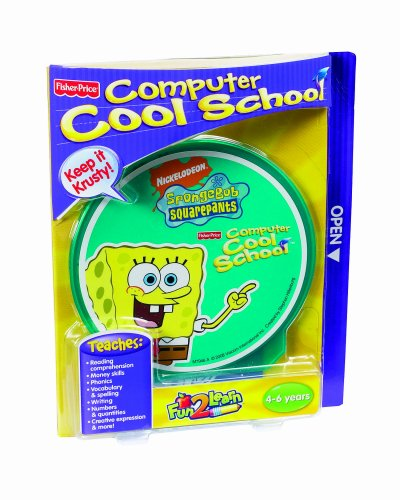 earn Computer Cool School Sponge Bob Software by Fisher-Price ()