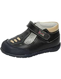Zapatos Germen 2003 - Zapato Piel Velcro Negro, color negro, talla 39