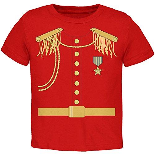 Prince Charming Kostüm rot Kleinkind T-Shirt-4 (Jungen Kostüm Charming Prince)