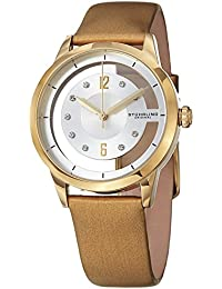 Stührling Original 946L.03 - Reloj analógico para mujer, correa de cuero, color oro