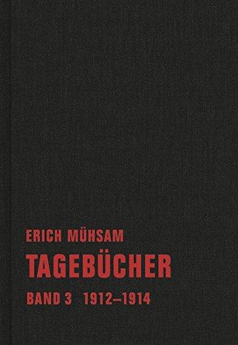 Tagebücher: Band 3. 1912-1914 (Tagebücher Bd. 1-15)