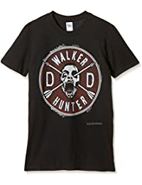 The Walking Dead Daryl Faux Patch and Wings - Camiseta manga corta para hombre