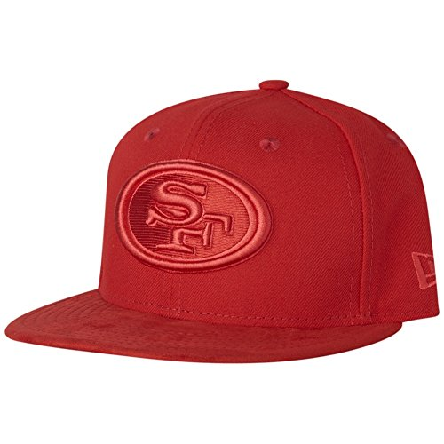 New Era 59Fifty Cap - POLY San Francisco 49ers rouge red