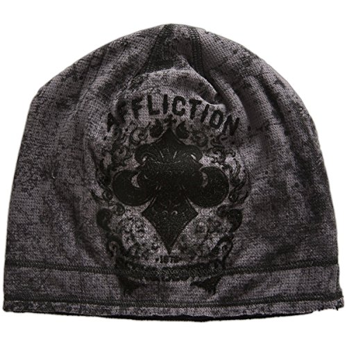 Reversible Woven Shirt (Affliction Signify Beanie)