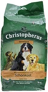 Allco - Christopherus - Nourriture de régime pour chien - Agen au / Riz - 1 x 4 kg