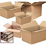 PPD 10 X Large Double Wall Cardboard House Moving Boxes - Removal Packing Box