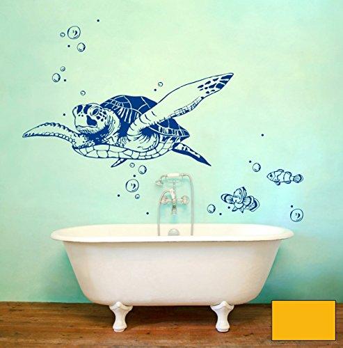 graz-design-adhesivo-decorativo-para-pared-tortuga-marina-tortuga-lotti-con-peces-y-burbujas-m1533-s