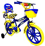 Loop Cycles Blue Yellow 16 Inch Bicycle ...