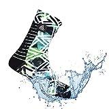 VER JARI Chaussettes étanches Verjari, Nouveau Design, Respirants, Coupe-Vent, Ultra-legères | Confort Total (Printé, 36-38)