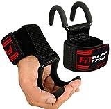 FITPACT Zughilfen Metallhaken Gewichtheben Gym Haken Bodybuilding Klimmzughaken Power Greifer...