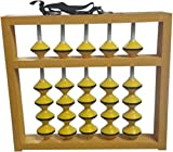 Djuize 5 Rod Teacher Abacus Yellow Beads