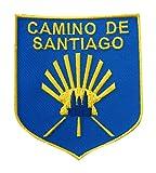 Patch stemma Camino de Santiago